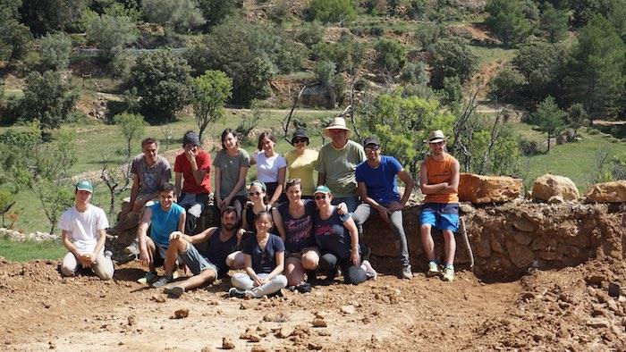 Els voluntaris del camp de treball internacional d'arqueologia de la Tinença visiten Vinaròs, Peníscola i Benicarló