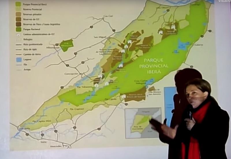 Ens fan arribar des del Iberá este reportatge sobre com ha anat als indígenes el procés de creació del parc nacional